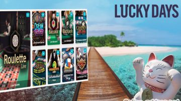 De welkomstbonus bij het Lucky Days casino