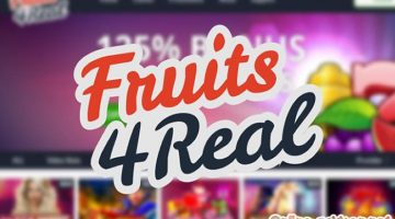 De casino bonussen bij het Fruits 4 Real casino